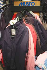 Musto Blusons in our Harrogate horse shop