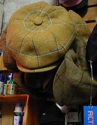 Tweed Flat Cap from Beavers, the Harrogate Horse Shop by Harlow Carr Gardens