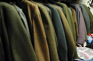 Hacking Jackets from Beavers, the Harrogate Horse Shop by Harlow Carr Gardens