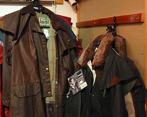 Wax Jacket from Beavers, the Harrogate Horse Shop by Harlow Carr Gardens
